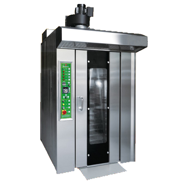 Full Stainless Steel 16 Tray Gas Rotary Oven