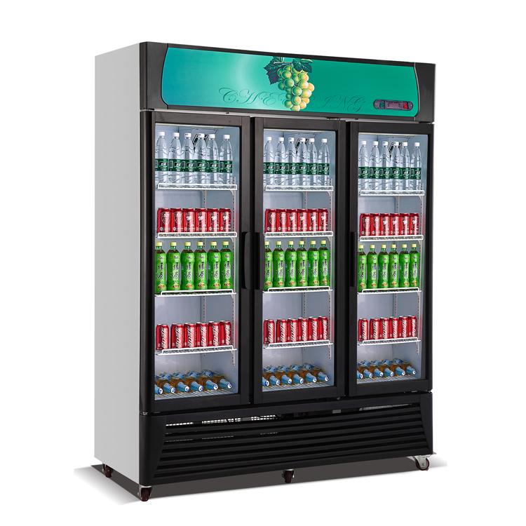 Glass Door Display freezer& fridge