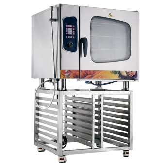 Gas Electric Combi Steamer  Oven