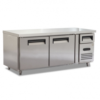 Stainless Steel Commercail Workbench Refrigerator Freezer