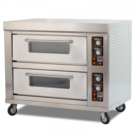 E26B Hot Sale Double Deck Electric Bakery Oven for Bread and Cake