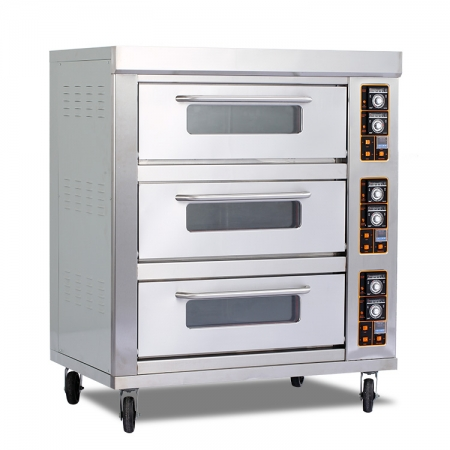 E39B Three-layer Nine-tray Electric Oven for Restaurant Kitchen