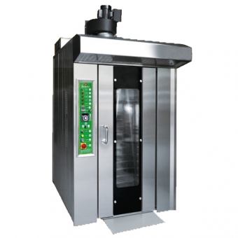 Baking Machine 16 Tray Gas Rotary Oven