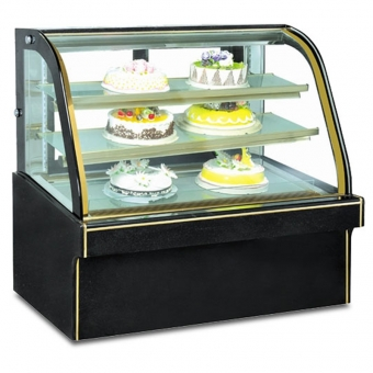 Display Case of Bakery Cold Cake Showcase