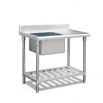 Commercial Kitchen Equipment Stainless Steel Sink