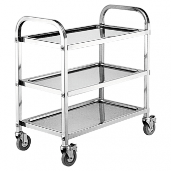 Kitchen equipment Stainless Steel Hand Trolley Cart
